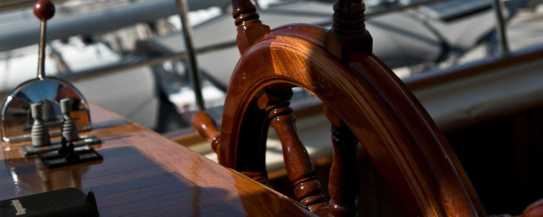 Bounty Day Cruises - Deck - Wheel